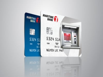 Thẻ tín dụng Maritime Bank có rút được tiền mặt không?