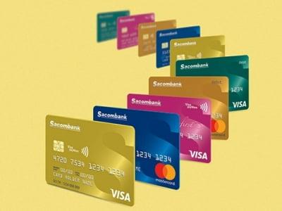 Rút tiền mặt thẻ tín dụng Sacombank giá rẻ tại HCM