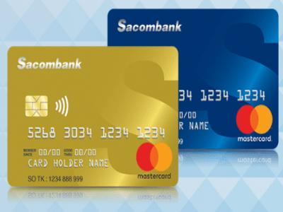 Rút tiền thẻ tín dụng ngân hàng Sacombank